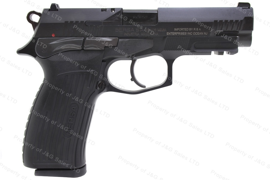 Bersa TPR9 Semi Auto Pistol, 9mm, Black, New.