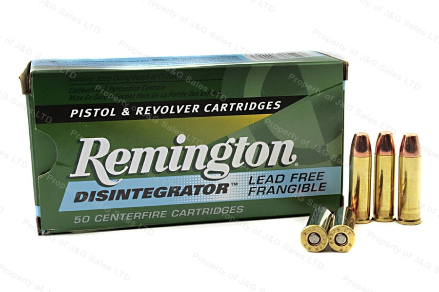 38 Special+P Rem 101gr Disintegrator Frangible Ammo, 50rd box.