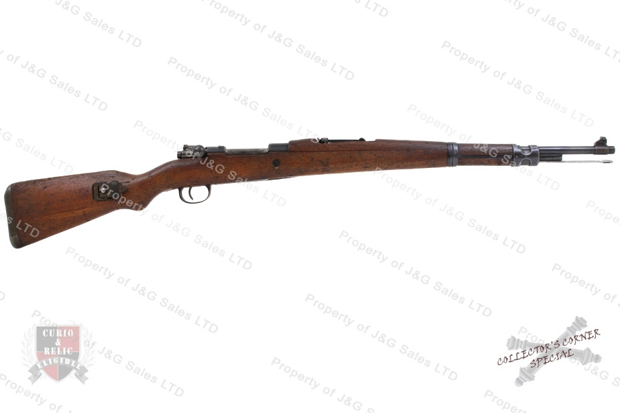 "Yugo 48 ""BO"" Mauser Bolt Action Rifle, 8x57, Blued, C&R, Good, Used."