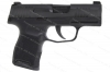 "Sig Sauer P365 Micro Compact Semi Auto Pistol, 9mm, 3"" Barrel, Night Sights, Black, New."