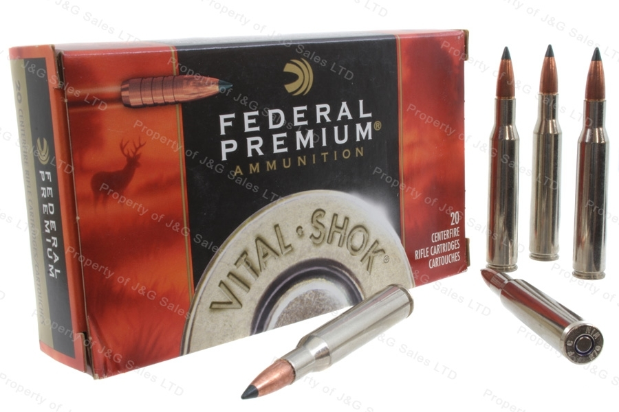 270 Win Federal Premium 130 Trophy Copper Ammo, 20rd Box. P270TC1
