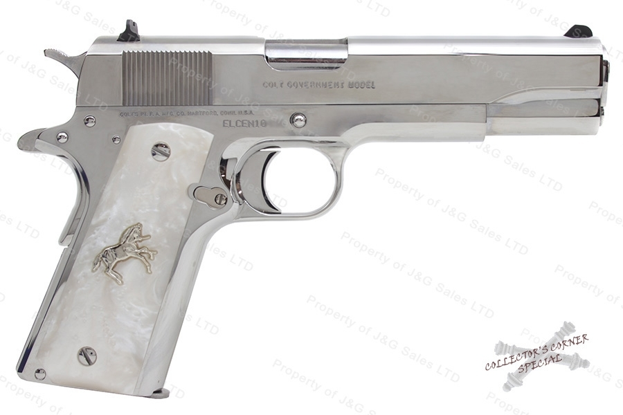 "Colt 1911 Government Custom Model O Semi Auto Pistol, 38 Super, 5"" Barrel, Includes two 9rd Magazines."