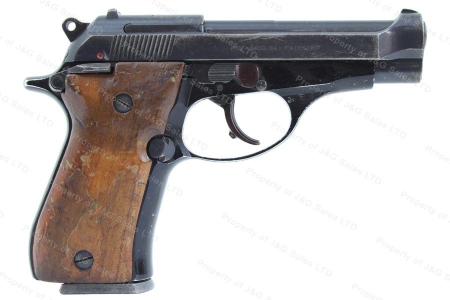 "Beretta 84 ""Cheetah"" Semi Auto Pistol, 380ACP, Blued, Good, Used."