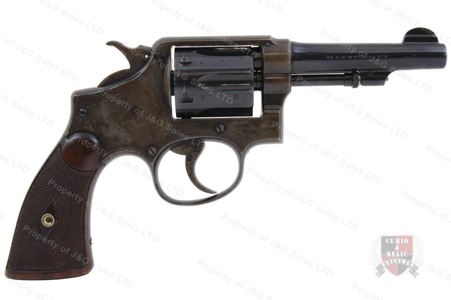 "Smith & Wesson M&P 1905 4th Change Revolver, 38 Special, 4"" Barrel, C&R, G-VG, Used, S&W."