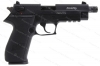 "GSG FireFly Semi Auto Pistol, 22LR, 4.75"" Threaded Barrel, Black, New."