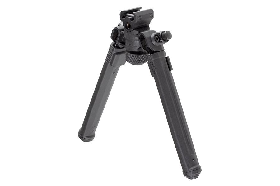 "Magpul Bipod for 1913 Picatinny Rail, with 6""-10"" Adjustable Foldable Legs, MAG941BLK, New."