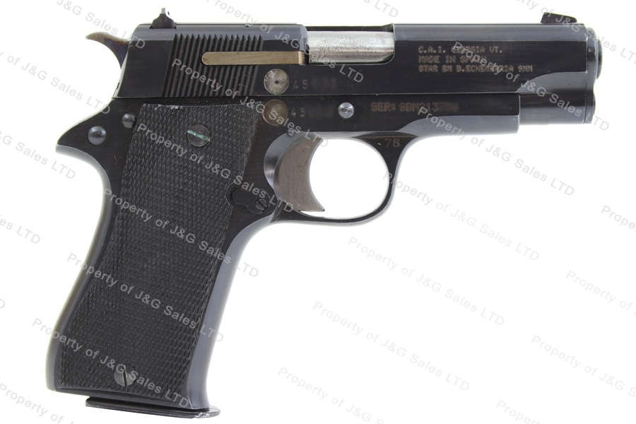 Star BM, 9mm Luger, Compact Semi Auto Pistol, Premium, Blued, Used.