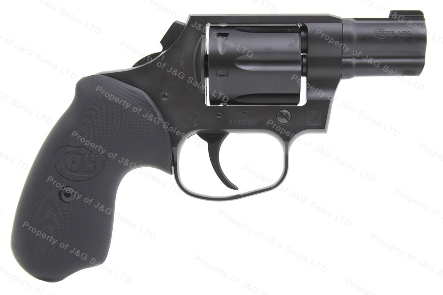 "Colt Cobra Revolver, 38 Special+P, 2"" Barrel, Black, Front Night Sight, New."