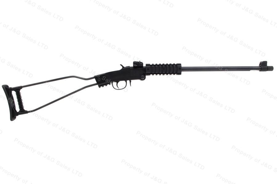 "Chiappa Little Badger Break Action Rifle, 22LR, 16.5"" Threaded Barrel, Wire Frame Stock, New"
