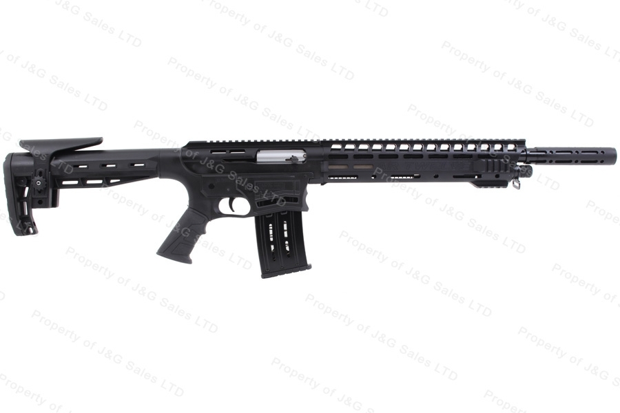 "Panzer Arms AR12 Semi Auto AR15 Style Shotgun, 12ga, 19"" Barrel, New."
