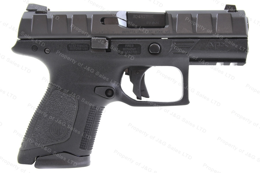 "Beretta APX Centurion Semi Auto Pistol, 9mm, 3.7"" Barrel, Black, Two 13rd Magazines, New."