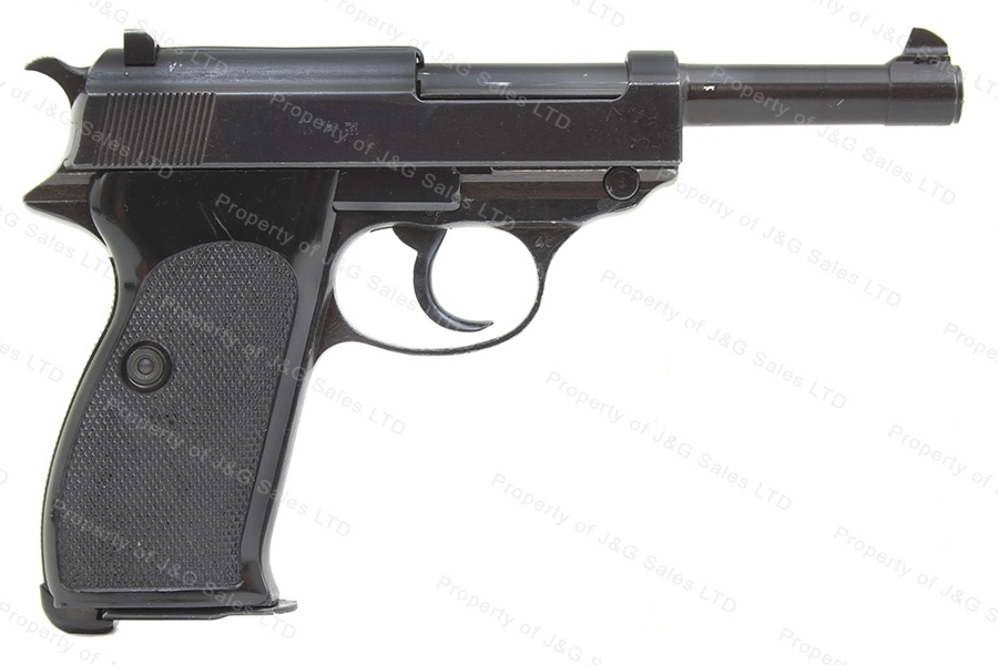 Walther P38 Semi Auto Pistol, 9mm, BYF 1943, Czech VZ46, VG Condition, C&R, Used.