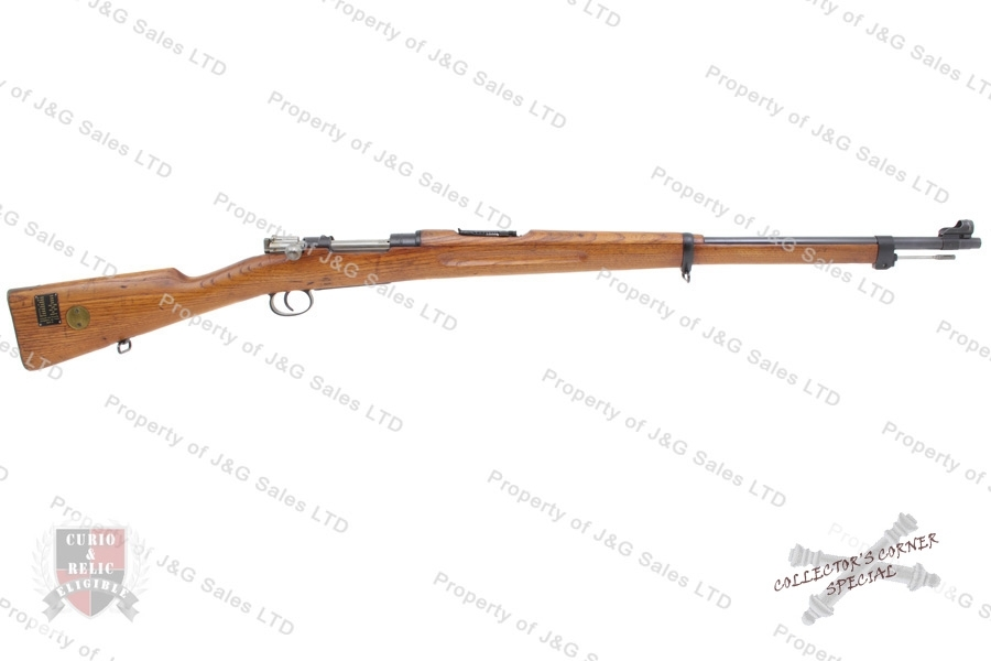 "Swedish 1896 Mauser Bolt Action Rifle, 6.5x55 Swede, 29"" Barrel, 1916 Mfg, C&R, VG, Used."