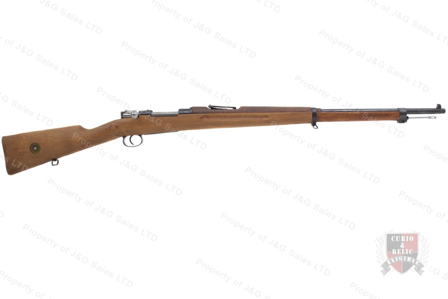 "Swedish 1896 Mauser Bolt Action Rifle, 6.5x55 Swede, 29"" Barrel, 1915 Mfg, C&R, G-VG, Used."