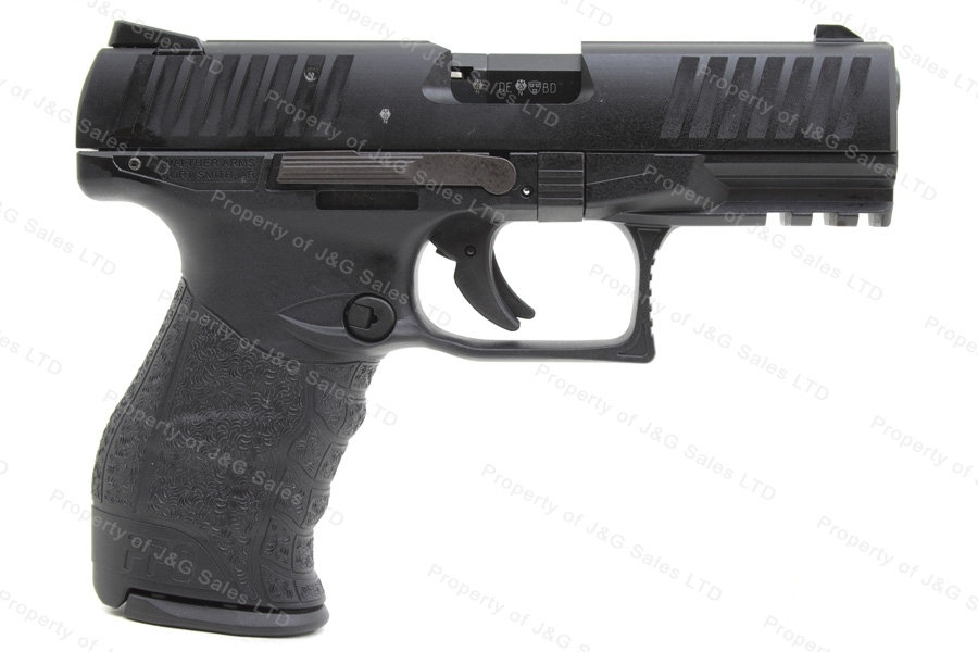 "Walther PPQM2 Semi Auto Pistol, 22LR, 4"" Barrel, Adjustable Sights, New."