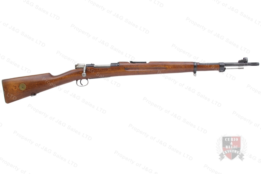 "Swedish 1938 Mauser Bolt Action Rifle, 6.5x55, 24"" Barrel, 1942 Mfg, C&R, VG, Used."