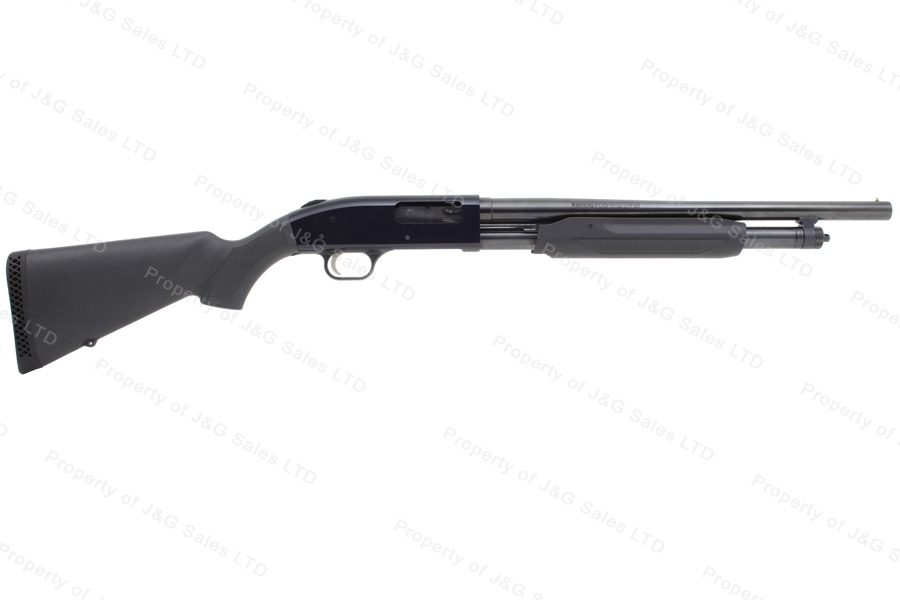"Mossberg 500 Pump Action Shotgun, 12ga, 18.5"" / 28"" Barrels, Synthetic Stock, Excellent, Used."