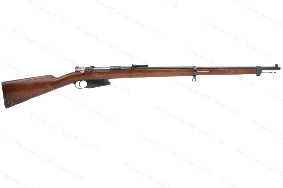 "Argentine 1891 Mauser Bolt Action Rifle, 7.65x53, 29"" Barrel, Antique Non-Firearm, G-VG, Used."