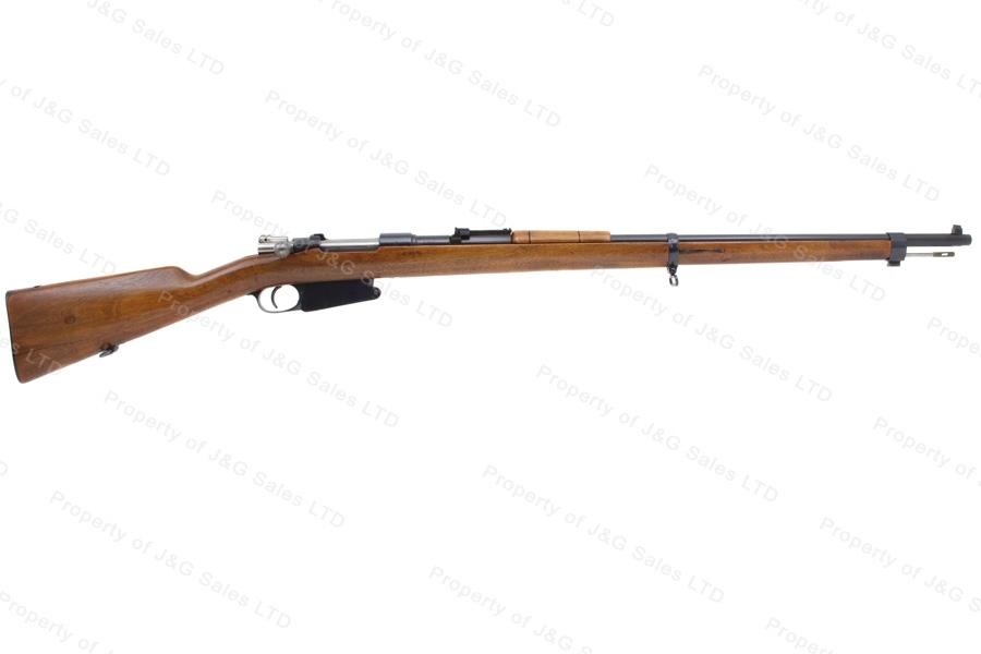 "Argentine 1891 Mauser Bolt Action Rifle, 7.65x53, 29"" Barrel, Antique Non-Firearm, VG, Used."