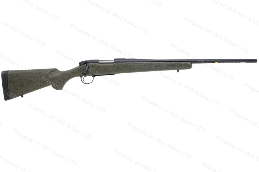 "Bergara B-14 Hunter Bolt Action Rifle, 6.5 Creedmoor, 22"" Barrel, Green Synthetic Stock, New."