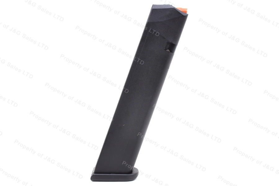 Glock 17 9mm 24rd Gen 5 Factory Magazine, Black, New.