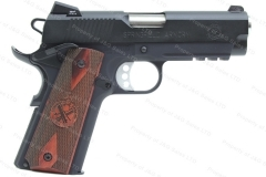 "Springfield 1911 Semi Auto Pistol , 45ACP, 4"" Barrel, Champion Operator Lightweight, Black, New."