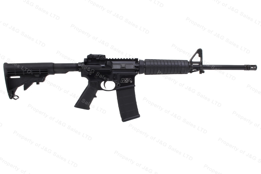 "Smith & Wesson M&P15 Sport II Semi Auto AR Style Rifle, 5.56/223, 16"" Barrel, With Case & Loader Package, New, S&W."