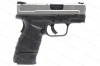 "Springfield Armory XD9 Mod 2 Sub Compact Semi Auto Pistol, 9mm, 3"" Barrel, Stainless Slide, New."