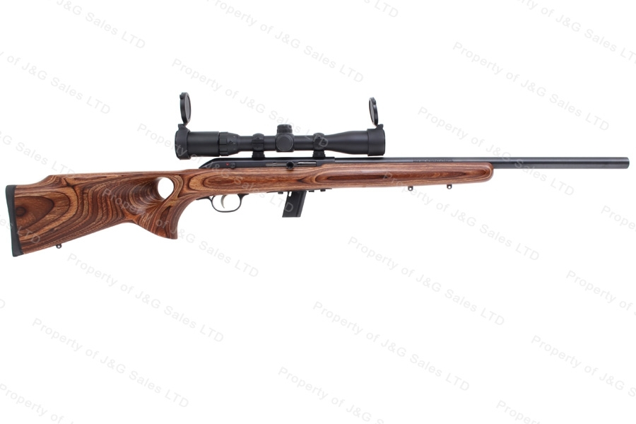"Savage 64BTV Semi Auto Rifle, 22LR, 21"" Barrel, Centerpoint 3-9x32 Red/Green Illumined Scope, Excellent, Used."