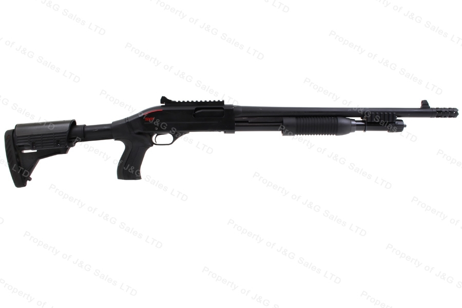 "Winchester SXP Extreme Defender Pump Action Shotgun, 12ga, 18"" Barrel, VG, Used."