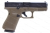 Glock 19 9mm Gen 5 Semi Auto Pistol, nDLC Finish, FDE, New.