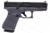 Glock 19 9mm Gen 5 Semi Auto Pistol, nDLC Finish, Gray, New.