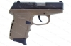 SCCY CPX-2 CBDE Semi Auto Pistol, 9mm, Black Slide, FDE Frame, New.