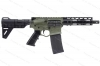 "ATI Omni Maxx Hybrid Semi Auto Pistol, 5.56/223, 7.5"" Barrel, With Blade Brace, Green, New."