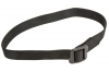 "VISM Tactical BDU Belt, Black Nylon Web, 57"" Long."