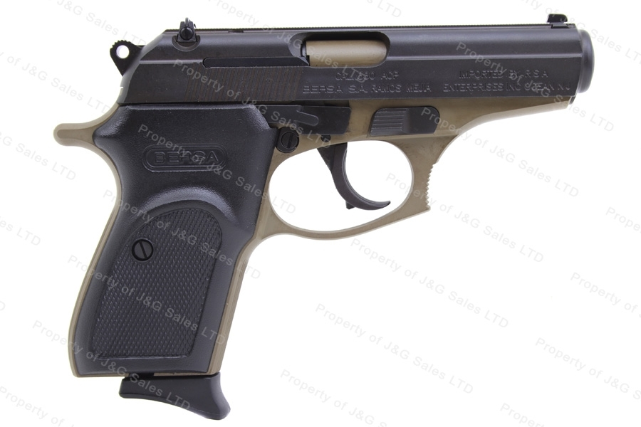 "Bersa/RSA Thunder 380 Semi Auto Pistol, 380ACP, 3.5"" Barrel, Black Slide, FDE Frame, New."