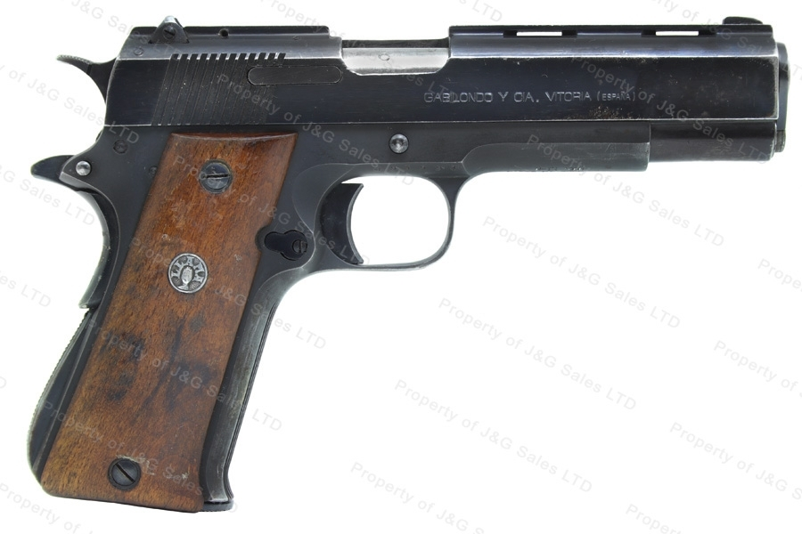 "Llama XIA Semi Auto Pistol, 9mm, 1911 Style, 5"" Barrel, Blued, G-VG, Used."