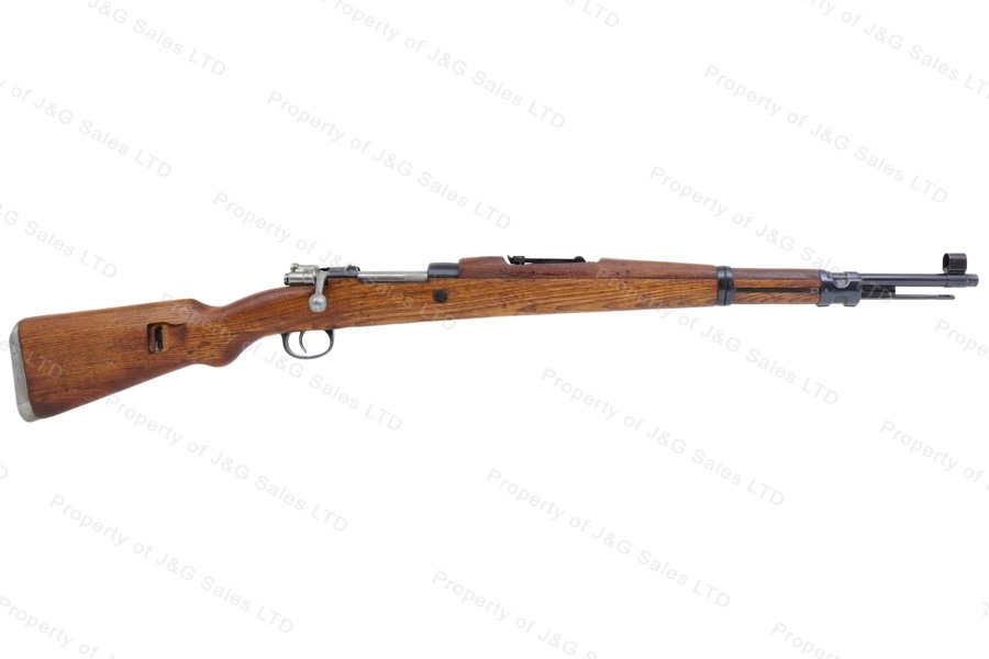 Yugo 48A Mauser Bolt Action M48A Rifle, 8x57, With Crest, C&R, Very Good, Used.