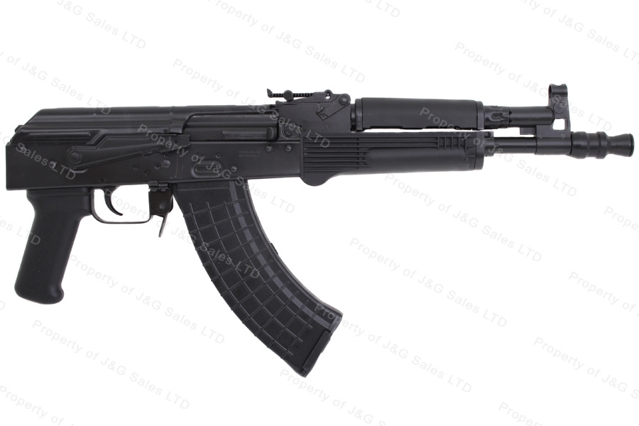"Pioneer Arms AK47 Hellpup Semi Auto Pistol, 7.62x39, 11.73"" Barrel, Black, New."