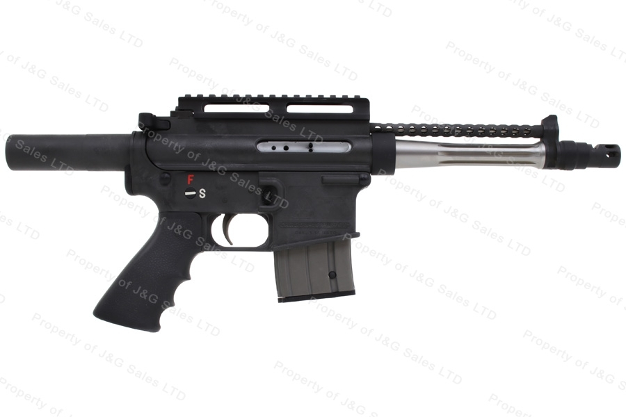 "Bushmaster Carbon 15 Type 97 Semi Auto Pistol, 5.56/223, 7.5"" Barrel, Black, Excellent, Used."