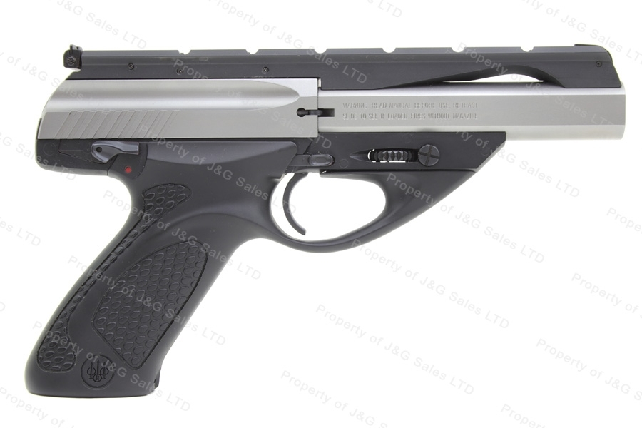 "Beretta U22 NEOS Semi Auto Pistol, 22LR, 4.5"" Barrel, Two Tone, VG+, Used."