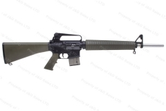 "Armalite M15A2 NM National Match Semi Auto AR Rifle, 5.56/223, 20"" Barrel, Green Stock, Excellent, Used."