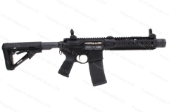 "Spikes Tactical Compressor SBR, 300 Blackout, 8.1"" Barrel, With MRS-2 Suppressor, Excellent, Used."