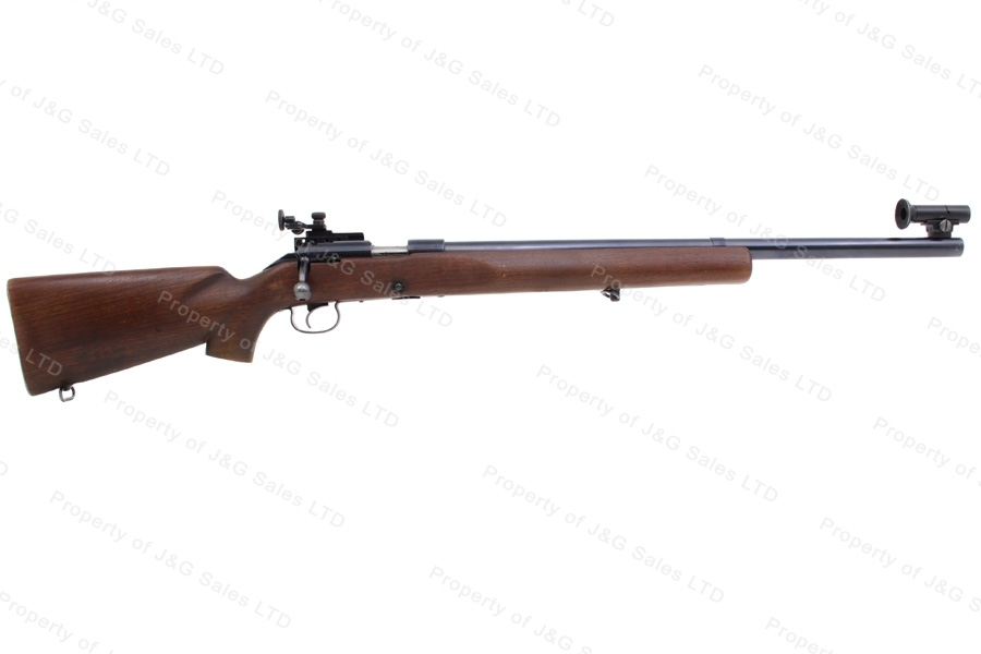 "Winchester 52C Bolt Action Rifle, 22LR, 28"" Heavy Target Barrel, 13.25"" Length of Pull, C&R, G-VG, Used."