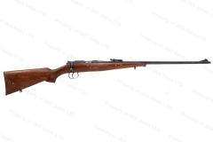 BRNO #2 Bolt Action C&R Rifle, 22LR Caliber, Blued, Wood Schnabel Stock, Good, C&R, Used.
