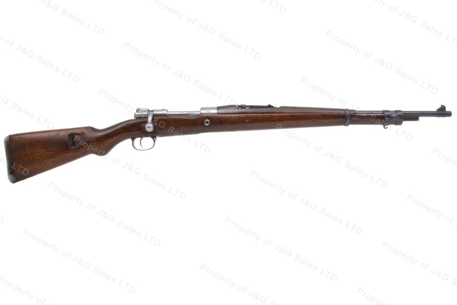 "Chilean 1912-61 Mauser Bolt Action Rifle, 7.62x51, 23.5"" Barrel, C&R, G-VG, Used."