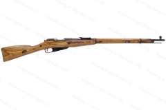 Mosin Nagant 91/30 Round Receiver Rifle, 7.62x54R, 1942 Izhevsk Mfg, C&R, G-VG, Used.