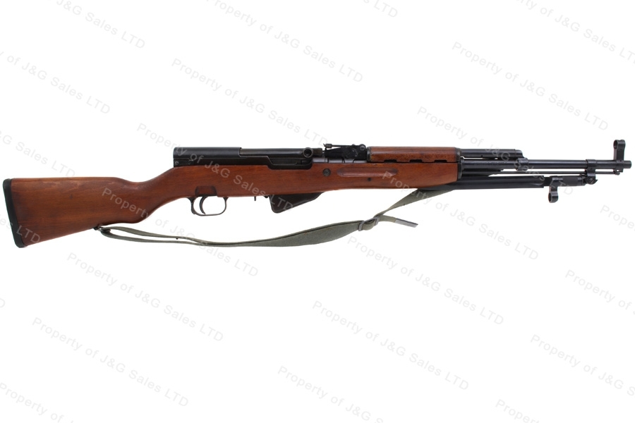 Yugo SKS 59 Semi Auto Rifle, 7.62x39, C&R, VG, Used