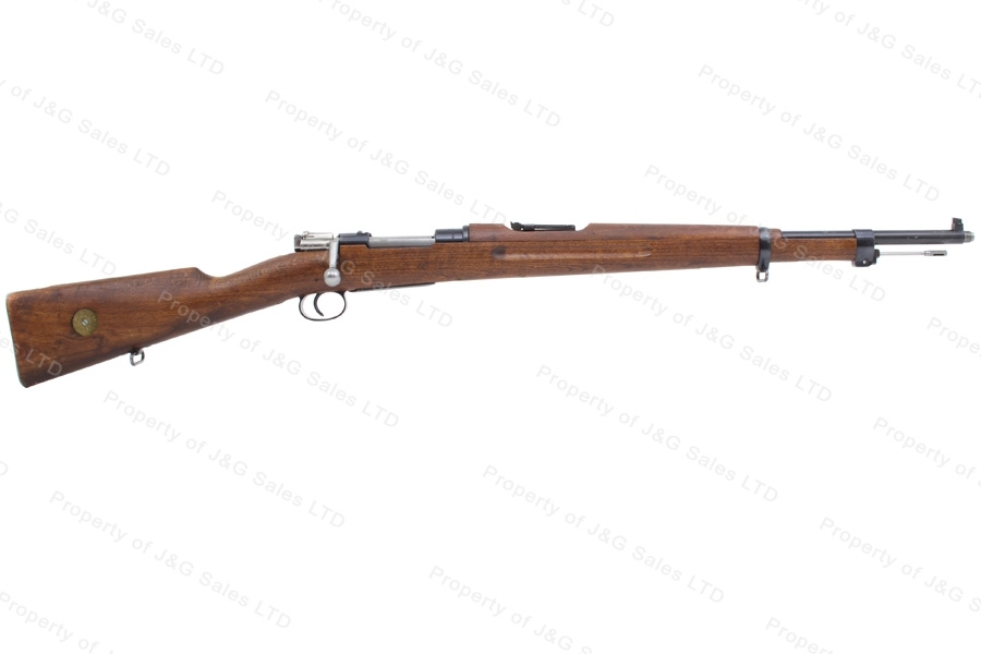 "Swedish 1938 Mauser Bolt Action Rifle, 6.5x55 Swede, 24"" Barrel, 1943 Mfg, C&R, VG, Used."