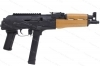 "Romanian Draco NAK9 Semi Auto AK Style Pistol, 9mm, 11.14"" Barrel, Century, New."